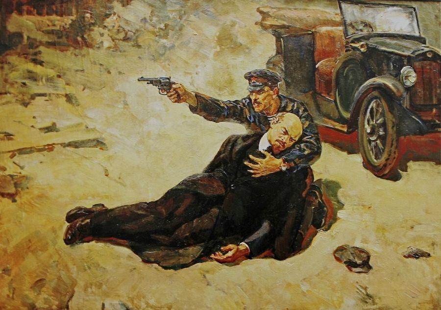 Следственный комитет установил заказчика покушения на Владимира Ульянова (Ленина) в августе 1918г.