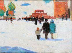 На Красной площади Москвы