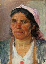Этюд женщины