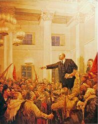 Ленин провозглашает Советскую власть