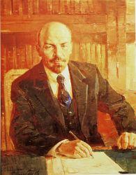 Ленин в кабинете