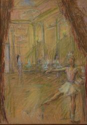 Балерина в зале