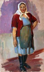 Портрет женщины эскиз